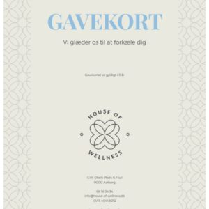 House of wellness gavekort